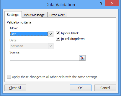 Data validation 2