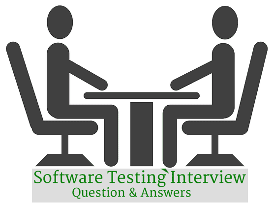 Interview Questions for software testing