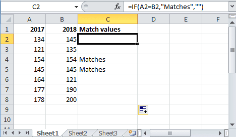 How To Compare Two Columns In Excel Using Vlookup Conditional