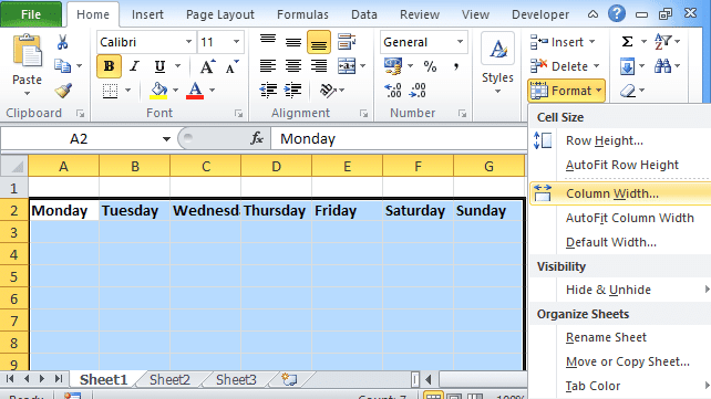 Excel Calendar Templates 2019 Create or Download (Monthly & Weekly